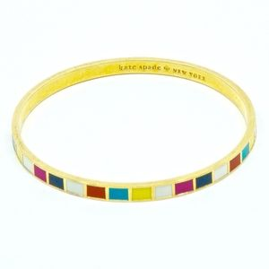 KATE SPADE~hit your stride~IDIOM BANGLE BRACELET